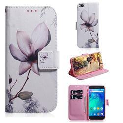 Magnolia Flower PU Leather Wallet Case for Mi Xiaomi Redmi Go