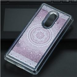 Mandala Glassy Glitter Quicksand Dynamic Liquid Soft Phone Case for Xiaomi Redmi Note 4 Red Mi Note4