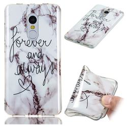 Forever Soft TPU Marble Pattern Phone Case for Xiaomi Redmi Note 4 Red Mi Note4