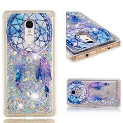 Fantasy Wind Chimes Dynamic Liquid Glitter Quicksand Soft TPU Case for Xiaomi Redmi Note 4X