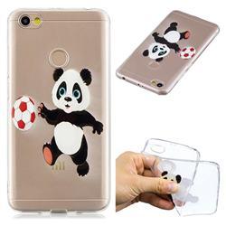 Football Panda Super Clear Soft TPU Back Cover for Xiaomi Redmi Note 5A