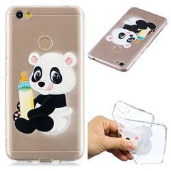 Baby Panda Super Clear Soft TPU Back Cover for Xiaomi Redmi Note 5A