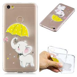 Umbrella Elephant Super Clear Soft TPU Back Cover for Xiaomi Redmi Note 5A
