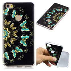 Circle Butterflies Super Clear Soft TPU Back Cover for Xiaomi Redmi Note 5A