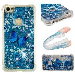 Flower Butterfly Dynamic Liquid Glitter Sand Quicksand Star TPU Case for Xiaomi Redmi Note 5A