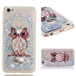 Seashell Owl Dynamic Liquid Glitter Quicksand Soft TPU Case for Xiaomi Redmi Note 5A