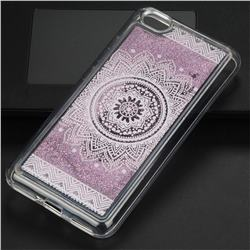 Mandala Glassy Glitter Quicksand Dynamic Liquid Soft Phone Case for Xiaomi Redmi Note 5A