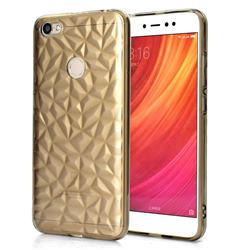 Diamond Pattern Shining Soft TPU Phone Back Cover for Xiaomi Redmi Note 5A - Gray