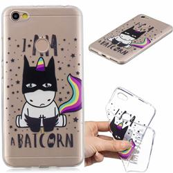 Batman Clear Varnish Soft Phone Back Cover for Xiaomi Redmi Note 5A