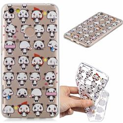 Mini Panda Clear Varnish Soft Phone Back Cover for Xiaomi Redmi Note 5A
