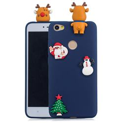 Navy Elk Christmas Xmax Soft 3D Silicone Case for Xiaomi Redmi Note 5A