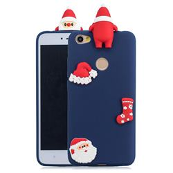 Navy Santa Claus Christmas Xmax Soft 3D Silicone Case for Xiaomi Redmi Note 5A