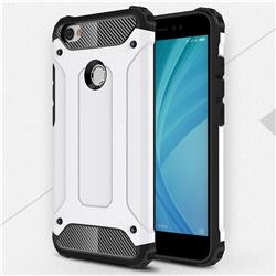 King Kong Armor Premium Shockproof Dual Layer Rugged Hard Cover for Xiaomi Redmi Note 5A - White