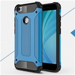 King Kong Armor Premium Shockproof Dual Layer Rugged Hard Cover for Xiaomi Redmi Note 5A - Sky Blue
