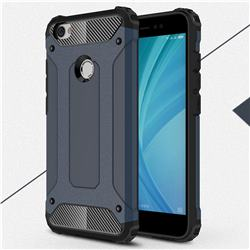 King Kong Armor Premium Shockproof Dual Layer Rugged Hard Cover for Xiaomi Redmi Note 5A - Navy