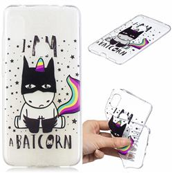 Batman Clear Varnish Soft Phone Back Cover for Mi Xiaomi Redmi Note 6