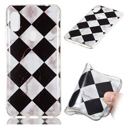 Black and White Matching Soft TPU Marble Pattern Phone Case for Mi Xiaomi Redmi Note 6