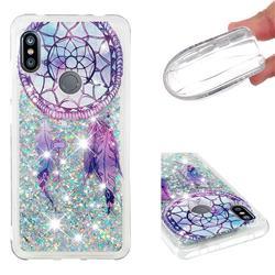 Fantasy Wind Chimes Dynamic Liquid Glitter Quicksand Soft TPU Case for Mi Xiaomi Redmi Note 6 Pro