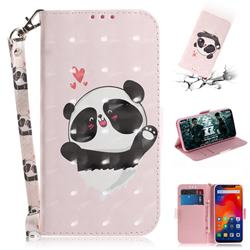 Heart Cat 3D Painted Leather Wallet Phone Case for Mi Xiaomi Redmi Note 6 Pro