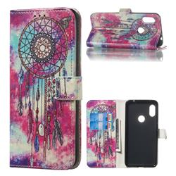 Butterfly Chimes PU Leather Wallet Case for Mi Xiaomi Redmi Note 6 Pro