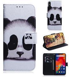 Sleeping Panda PU Leather Wallet Case for Mi Xiaomi Redmi Note 6 Pro