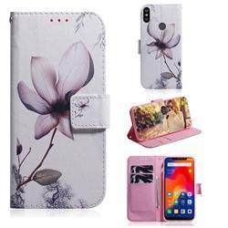 Magnolia Flower PU Leather Wallet Case for Mi Xiaomi Redmi Note 6 Pro