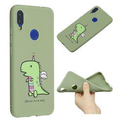 Cute Crocodile Anti-fall Frosted Relief Soft TPU Back Cover for Xiaomi Mi Redmi Note 7 / Note 7 Pro