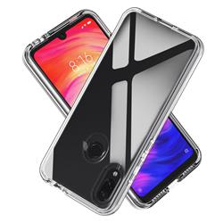 Transparent 2 in 1 Drop-proof Cell Phone Back Cover for Xiaomi Mi Redmi Note 7 / Note 7 Pro