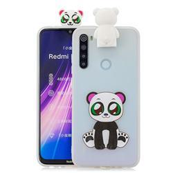Panda Soft 3D Climbing Doll Stand Soft Case for Mi Xiaomi Redmi Note 8