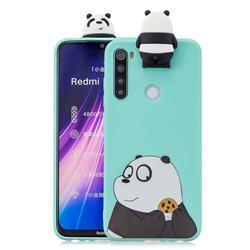 Striped Bear Soft 3D Climbing Doll Stand Soft Case for Mi Xiaomi Redmi Note 8