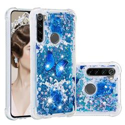 Flower Butterfly Dynamic Liquid Glitter Sand Quicksand Star TPU Case for Mi Xiaomi Redmi Note 8