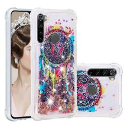Seal Wind Chimes Dynamic Liquid Glitter Sand Quicksand Star TPU Case for Mi Xiaomi Redmi Note 8