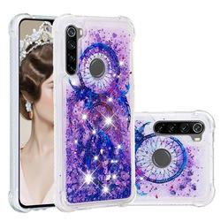 Retro Wind Chimes Dynamic Liquid Glitter Sand Quicksand Star TPU Case for Mi Xiaomi Redmi Note 8