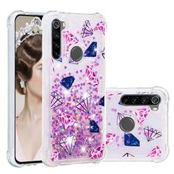 Diamond Dynamic Liquid Glitter Sand Quicksand Star TPU Case for Mi Xiaomi Redmi Note 8