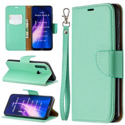 Classic Luxury Litchi Leather Phone Wallet Case for Mi Xiaomi Redmi Note 8 - Green