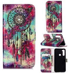 Butterfly Chimes PU Leather Wallet Case for Mi Xiaomi Redmi Note 8