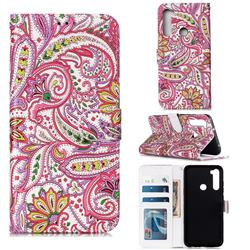 Pepper Flowers 3D Relief Oil PU Leather Wallet Case for Mi Xiaomi Redmi Note 8