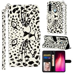 Leopard Panther 3D Leather Phone Holster Wallet Case for Mi Xiaomi Redmi Note 8
