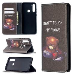 Chainsaw Bear Slim Magnetic Attraction Wallet Flip Cover for Mi Xiaomi Redmi Note 8