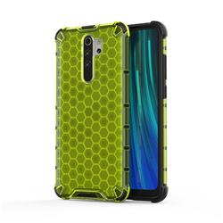 Honeycomb TPU + PC Hybrid Armor Shockproof Case Cover for Mi Xiaomi Redmi Note 8 Pro - Green