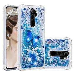 Flower Butterfly Dynamic Liquid Glitter Sand Quicksand Star TPU Case for Mi Xiaomi Redmi Note 8 Pro