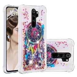 Seal Wind Chimes Dynamic Liquid Glitter Sand Quicksand Star TPU Case for Mi Xiaomi Redmi Note 8 Pro