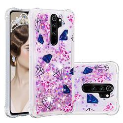 Diamond Dynamic Liquid Glitter Sand Quicksand Star TPU Case for Mi Xiaomi Redmi Note 8 Pro