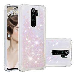 Dynamic Liquid Glitter Sand Quicksand Star TPU Case for Mi Xiaomi Redmi Note 8 Pro - Pink