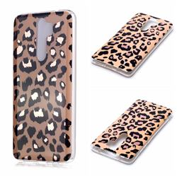 Leopard Galvanized Rose Gold Marble Phone Back Cover for Mi Xiaomi Redmi Note 8 Pro