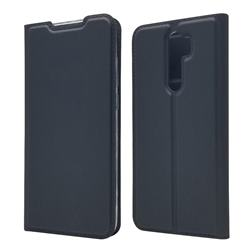 Ultra Slim Card Magnetic Automatic Suction Leather Wallet Case for Mi Xiaomi Redmi Note 8 Pro - Star Grey