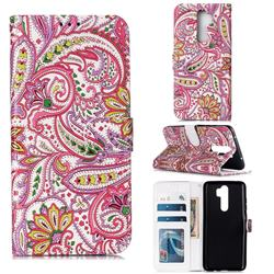 Pepper Flowers 3D Relief Oil PU Leather Wallet Case for Mi Xiaomi Redmi Note 8 Pro