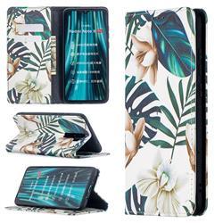Flower Leaf Slim Magnetic Attraction Wallet Flip Cover for Mi Xiaomi Redmi Note 8 Pro