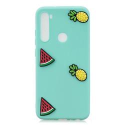 Watermelon Pineapple Soft 3D Silicone Case for Mi Xiaomi Redmi Note 8T