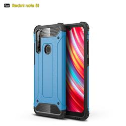 King Kong Armor Premium Shockproof Dual Layer Rugged Hard Cover for Mi Xiaomi Redmi Note 8T - Sky Blue